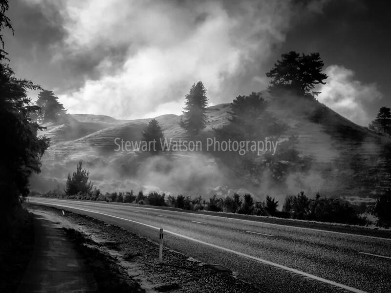just south of Rotorua