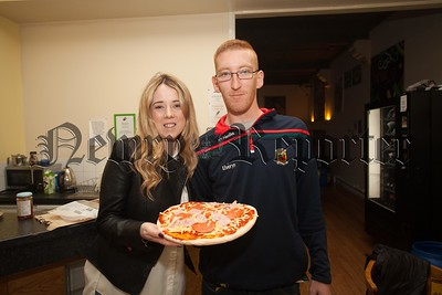 Niall Malone is pictured with Claire Mchugh (Leader in Charge). R1604011