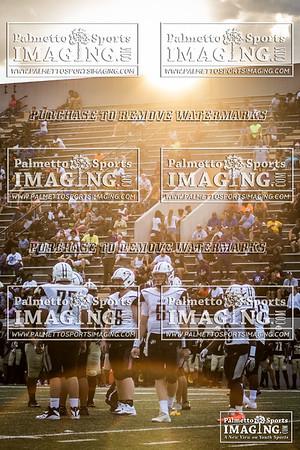 8-10-2018 Gray Collegiate Varsity Football vs Fairfield Central