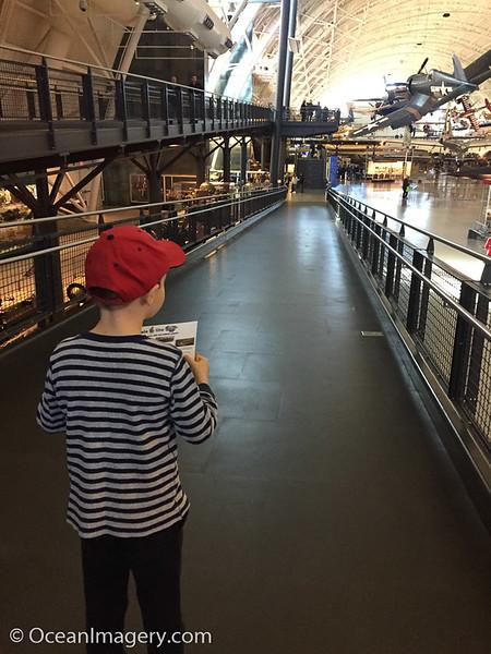 20161223 Dulles, VA. - The Air & Space Museum