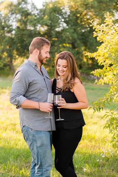 Nashoba Valley Winery & Old Stone Church Engagement: Maria & Bill