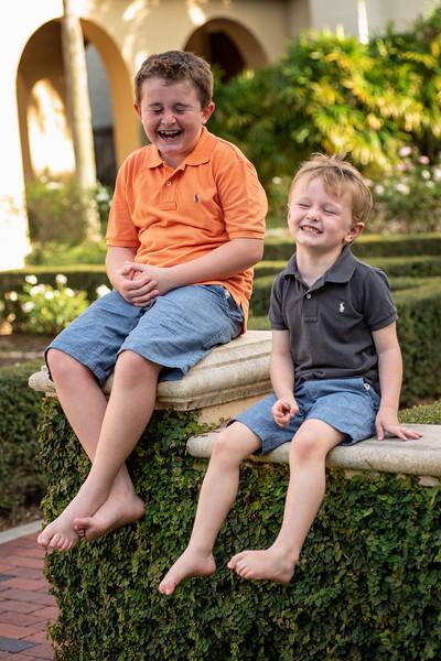 RiCharde Fairbanks boys at garden V.jpg