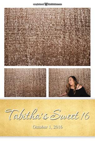 Tabitha's Sweet 16 - October 1, 2016