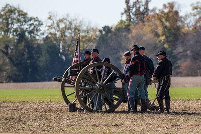 CIVIL WAR RE-ENACTMENT, LOCUST GROVE 2016