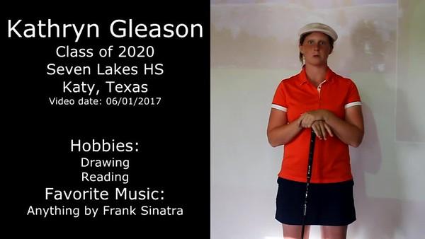 Kathryn Gleason 2017 Swing Video
