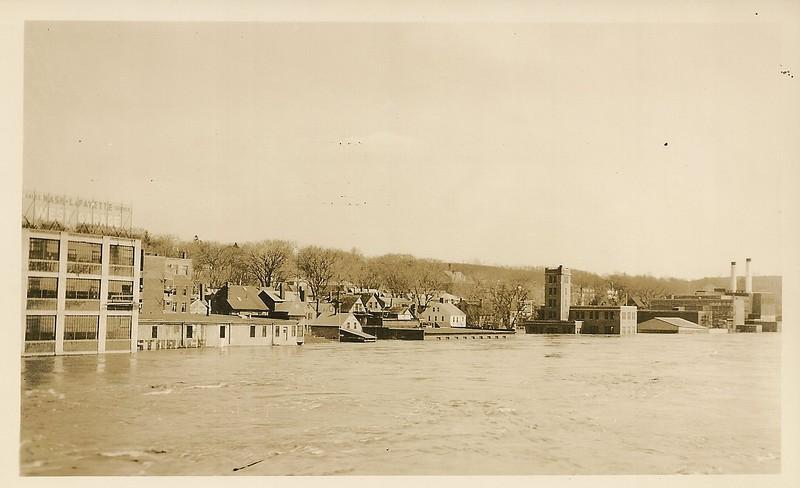 Flood of 1936 - Photograph by Walter K Moss Written on Back.JPG
