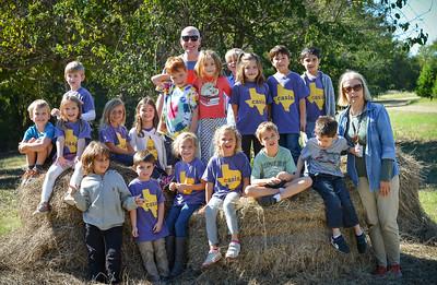 Kinder Elgin Tree Farm Field Trip