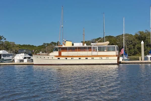 """Trumpy Yacht """"Lady Catherine"""" 11-08-11,  04-15-12, 04-11-19, 04-12-19, 04-21-19"""