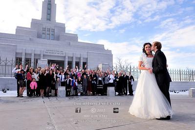 Rachael and Spencer Wedding