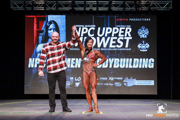 NPC Womens Bodybuilding Final