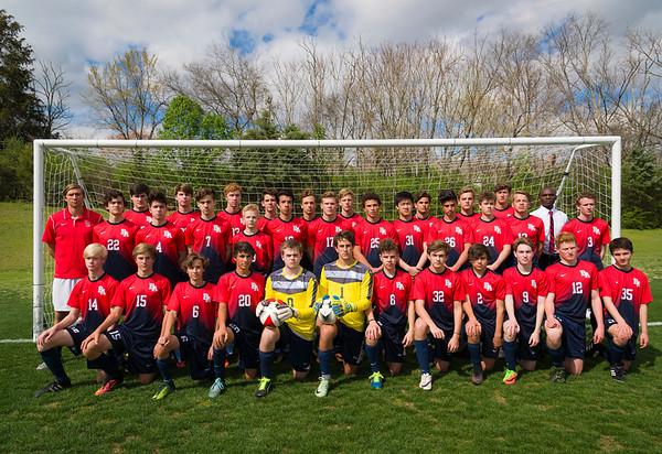 Boys Soccer Team 3/28/17