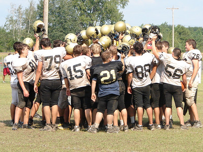 Bullock Creek/football practice
