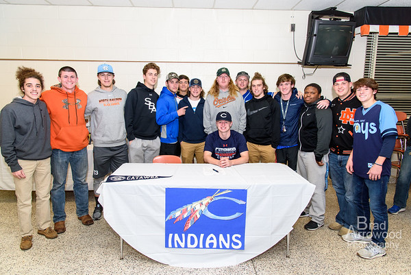 Joe Butts Signs With Catawba College Baseball