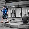 Caught Kilting in Edinburgh