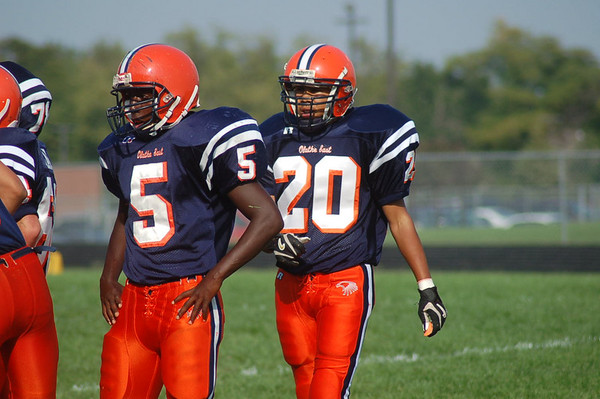 Northwest Ravens vs. Olathe East Soph. 07