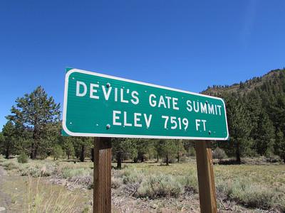 CA- Devil's Gate Summit