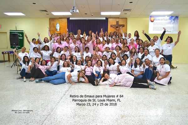 03/23-24-25/2018 - Retiro Emaus Mujeres # 64 - by Alfonso Calvo