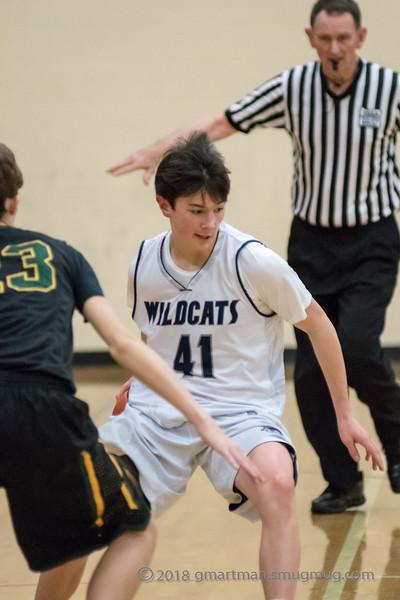 2018-19 Freshman Basketball vs. West Linn