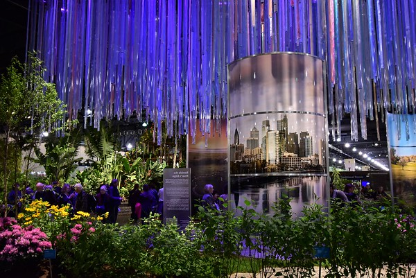 "2018 Philadelphia Flower Show  --  ""Wonders of Water"""
