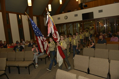 Troop 664 Fall Court of Honor 9-24-2019