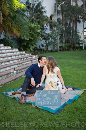 Nicole and Jeff ~ Santa Barbara Engagement Session
