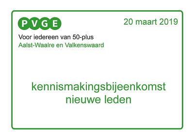 2019-0320 PVGE nieuwe leden bijeenkomst