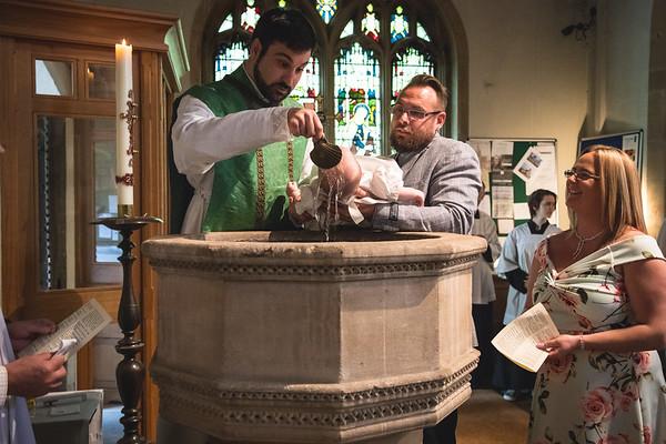 Fraya's Christening