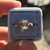1.00ct Emerald Cut Diamond Solitaire, Platinum 19