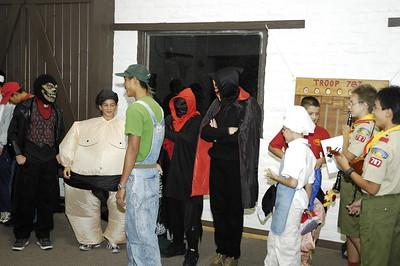10/24/2005 - Holloween Troop Meeting with Music Demonstration