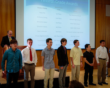 12th grade winners of the State Math Contest