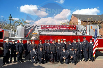 Freeport F.D. Dedication for Tower Ladder 217  11/3/19