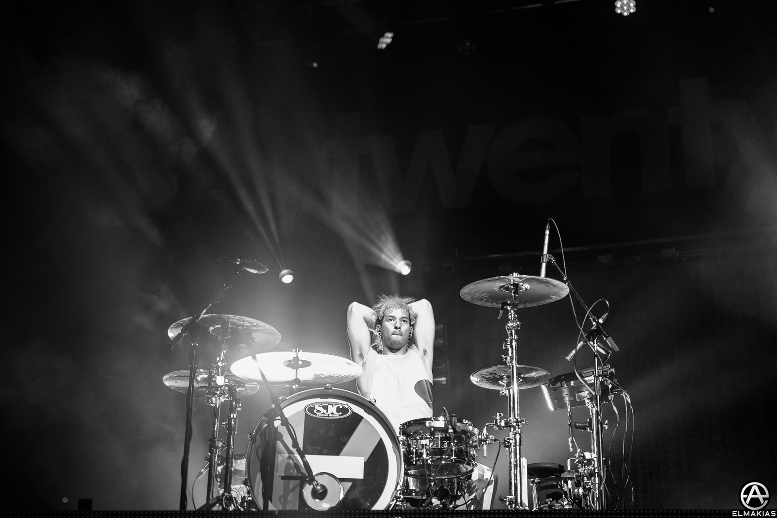 Josh Dun by Adam Elmakias