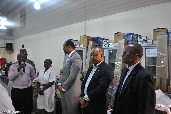 Launching of Hospital DTCs in Sierra Leone