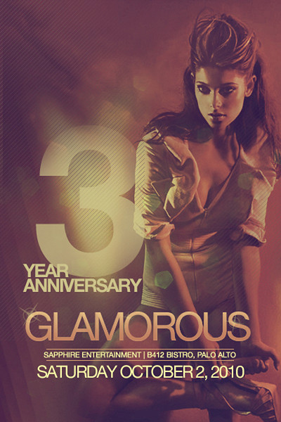 Sapphire Entertainment presents GLAMOROUS @ B4TWELVE 10.2.10