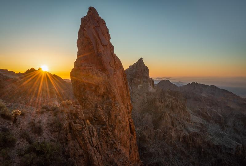 (2020-March 3-4) A Climb Up Summit Canyon.  Kofa NWR, Arizona