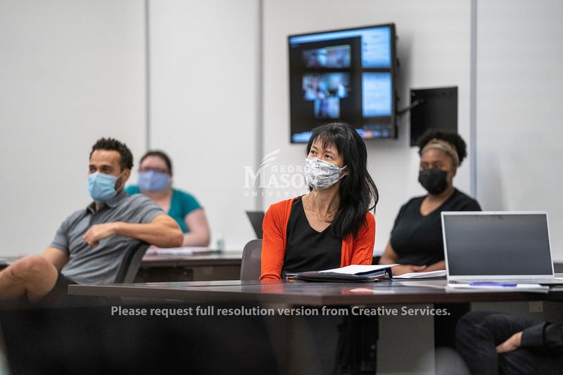 Social Work Hybrid Classroom