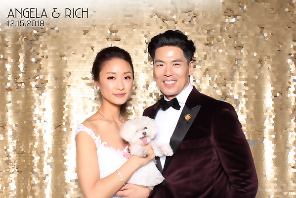 Angela and Rich Wedding (SkinGlow Booth)