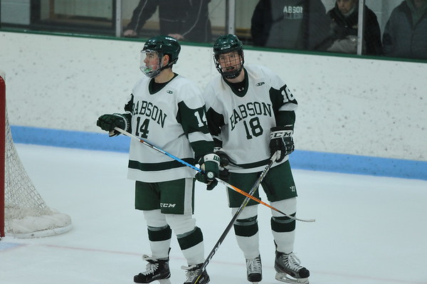 BABSON  COLLEGE HOCKEY vs  CASTLETON STATE  1.127.2018
