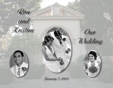 Ron & Kristine's Wedding Album