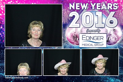Michael E Rodgers' Senior Center New Years Party 2016