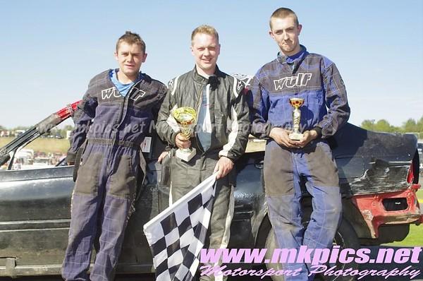 Bangers, Hednesford Hills Raceway, 6 May 2013