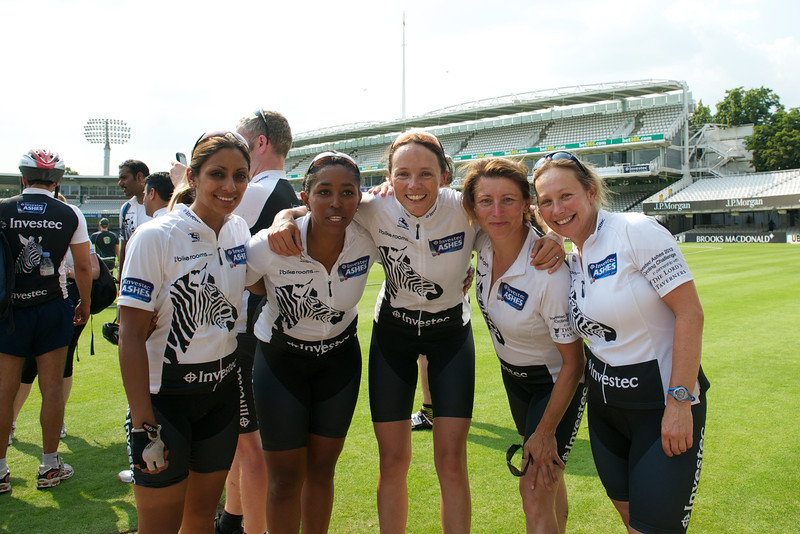Investec Cycle - Lucy and Amanda