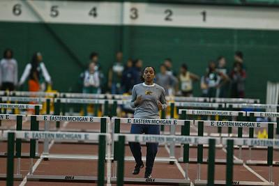 60M Hurdle Prelims - 2013 MAC Indoor Championships