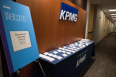 KPMG CFO David Turner's Tyson's Visit
