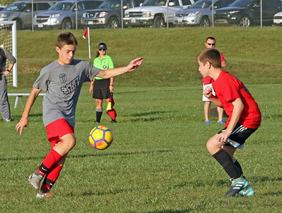 Nixa Eighth Grade Soccer vs. Pershing