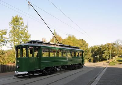 Beamish trams, 2010