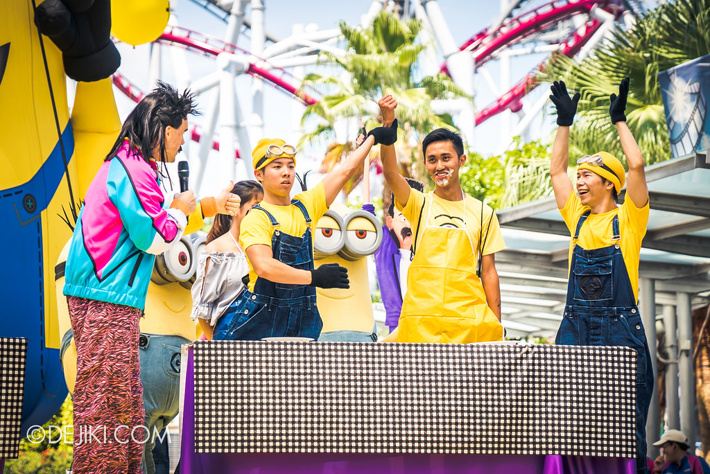 Despicable Me Breakout Party at Universal Studios Singapore / Rodney Rotten Banana Eating Competition Winner