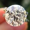 3.86ct Old European Cut Diamond GIA K VS2 43