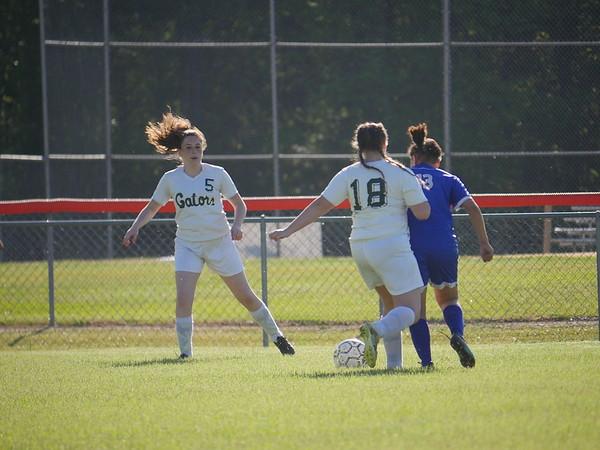 ECHS JV Girls Soccer versus WHS April 20