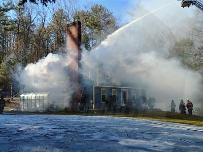 2 Alarm Fire - Amherst, NH - 4/1/2019